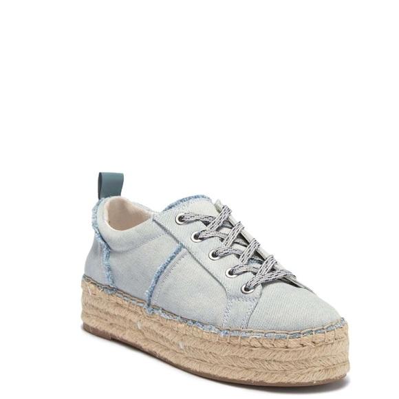e5187db89c9e07 Carleigh Denim Espadrille Sneaker. NWT. Sam Edelman